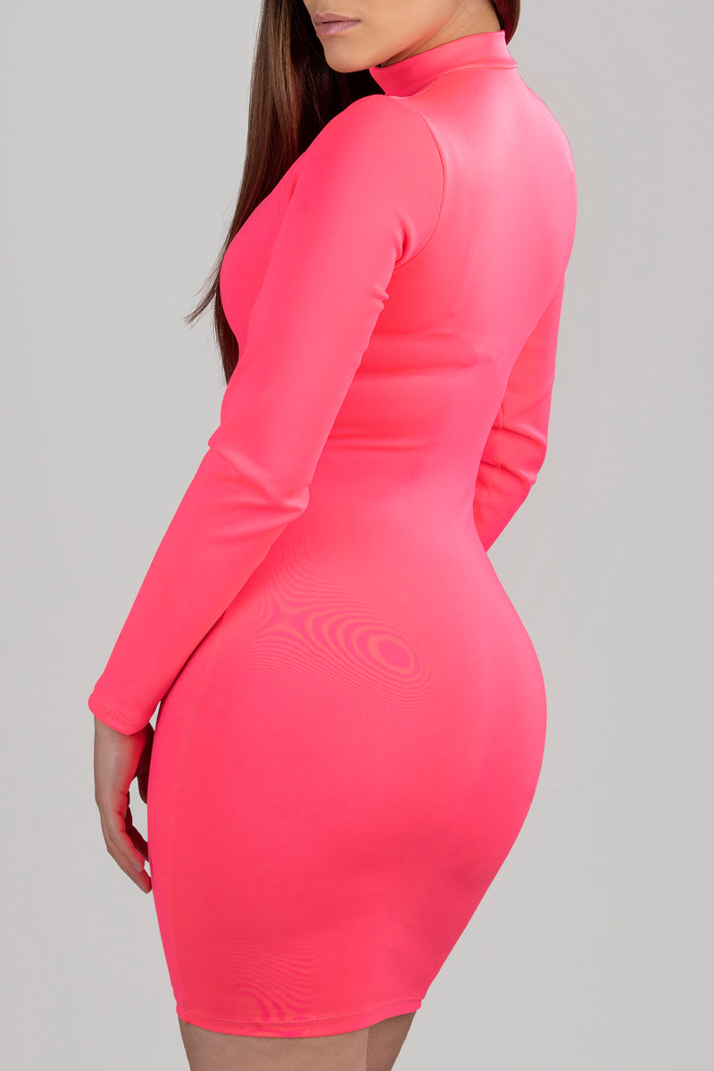 AYLIN PINK DRESS