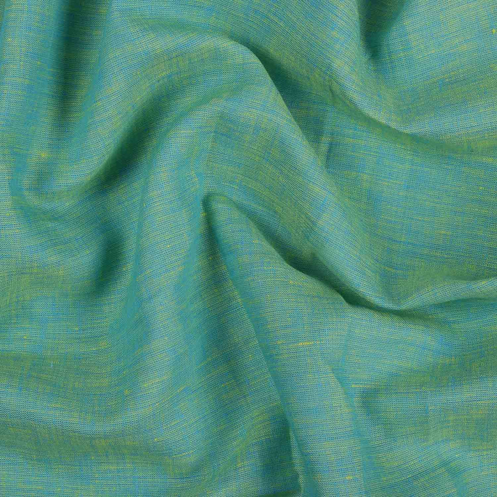 Pitch Green & Yellow Linen