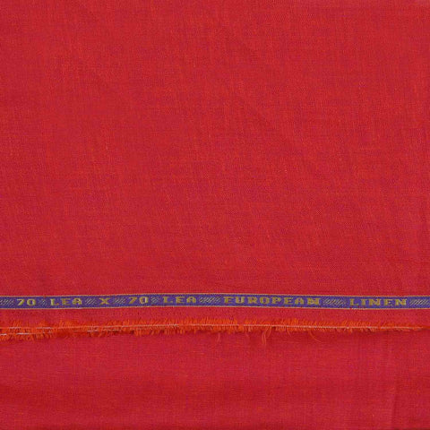 Image of Rich Orange Linen