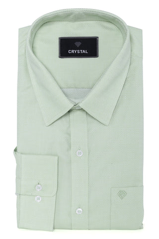Pitch Green Cotton Shirt