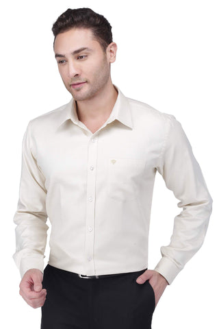 Light Brown Cotton Shirt