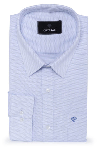 Light Sky Blue Cotton Shirt