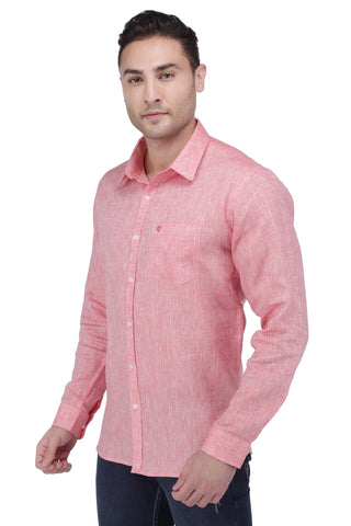 Image of Red Linen Shirt