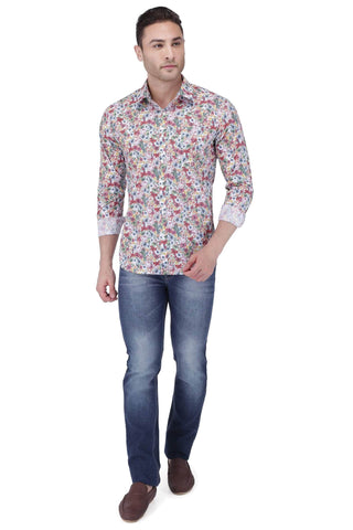 Printed Multi Colour Shirt