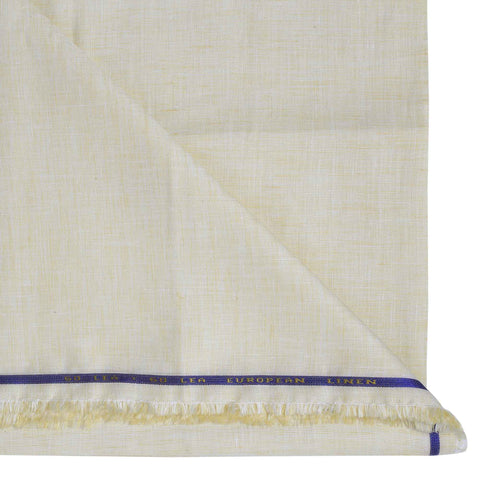 Image of Lightest Yellow Linen