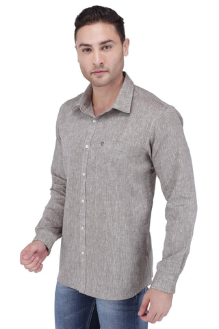 Image of Chocolate Linen Shirt