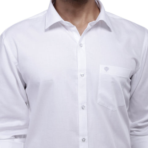 Supreme Giza White Cotton Shirt