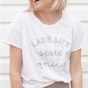 Load image into Gallery viewer, Lake Life State of Mind T-Shirt