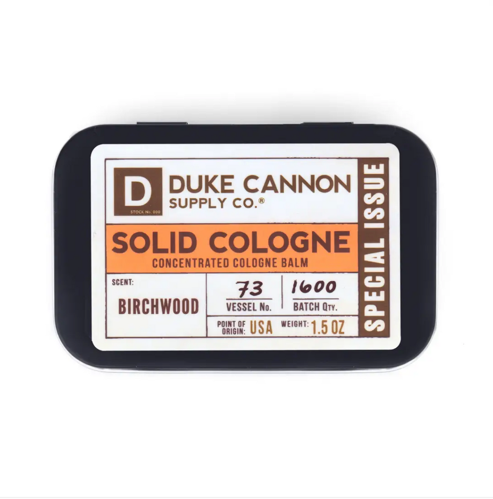 Solid Cologne- Birchwood