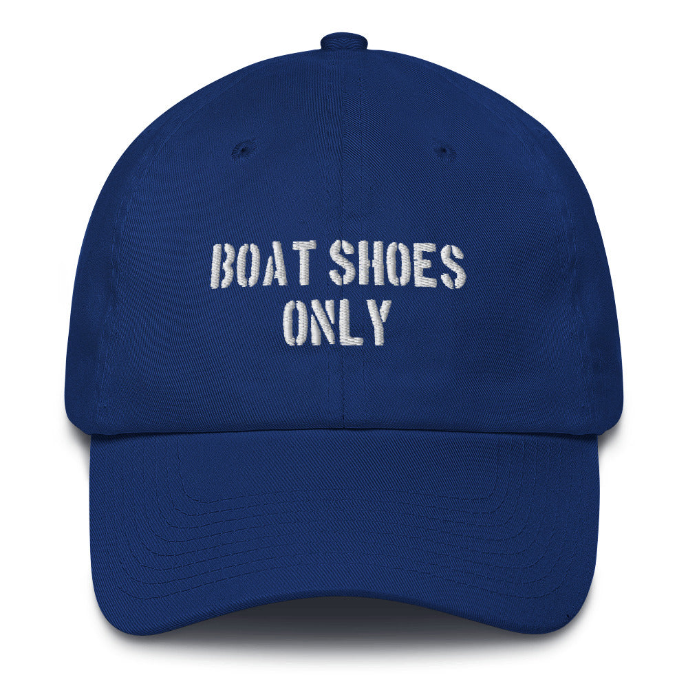 Embroidered Hat- Boat Shoes Only