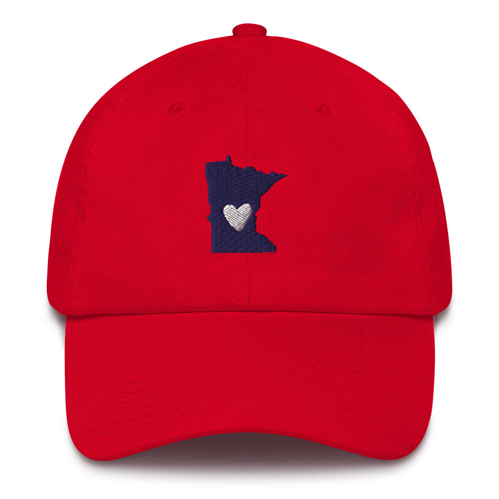 "Embroidered Hats- Minnesota ""Love"""