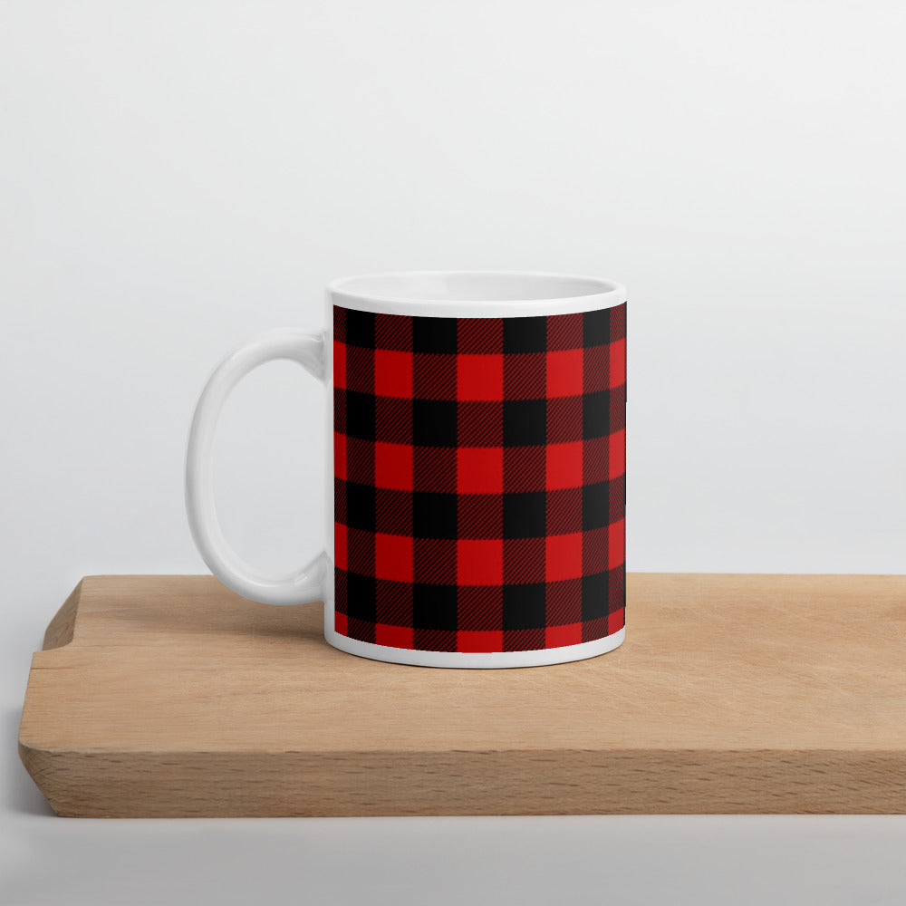 Plaid Mug- Buffalo Plaid