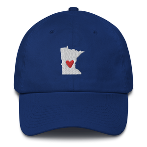"Embroidered Hat- Minnesota ""LOVE"""