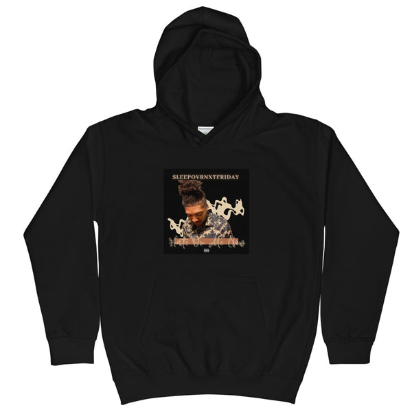 SLEEPOVRNXTFRIDAY Hate On Me Now Kids Hoodie