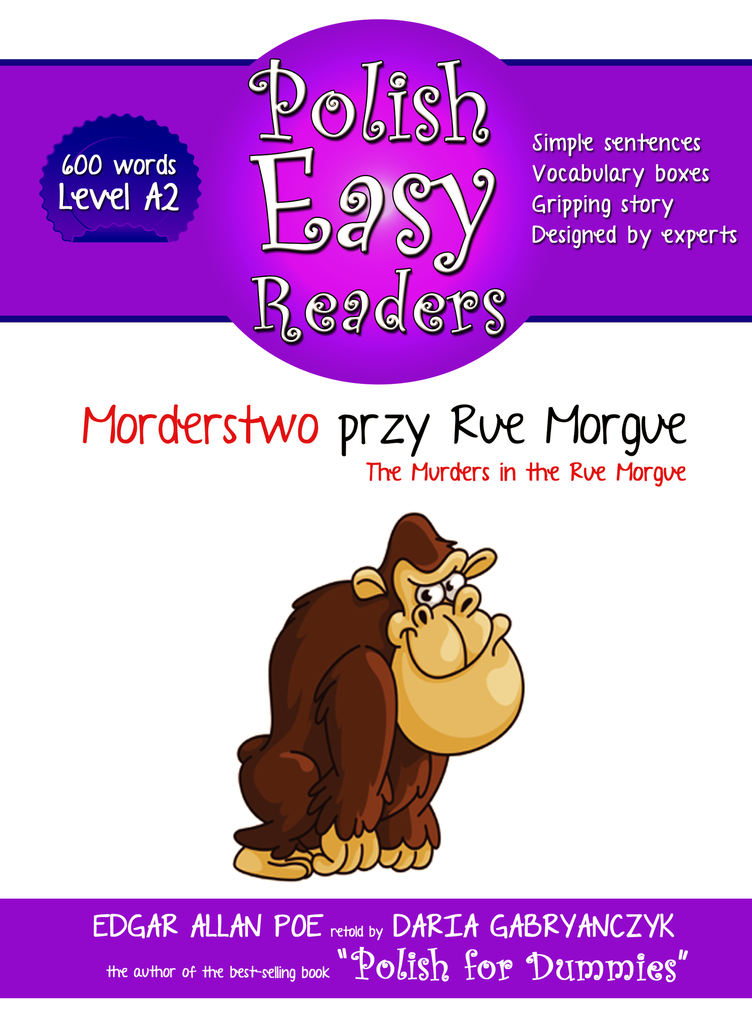 Morderstwo przy Rue Morgue (The Murders in the Rue Morgue) - E-book (600 words)