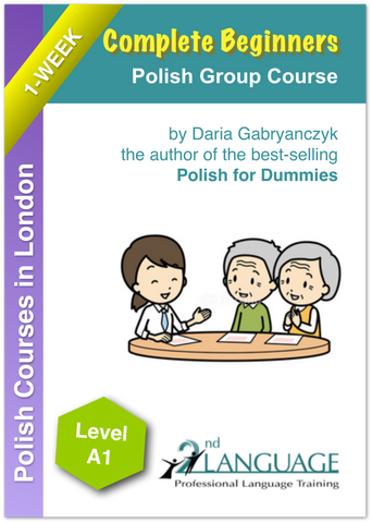 One Week Intensive Polish Beginner Course in London