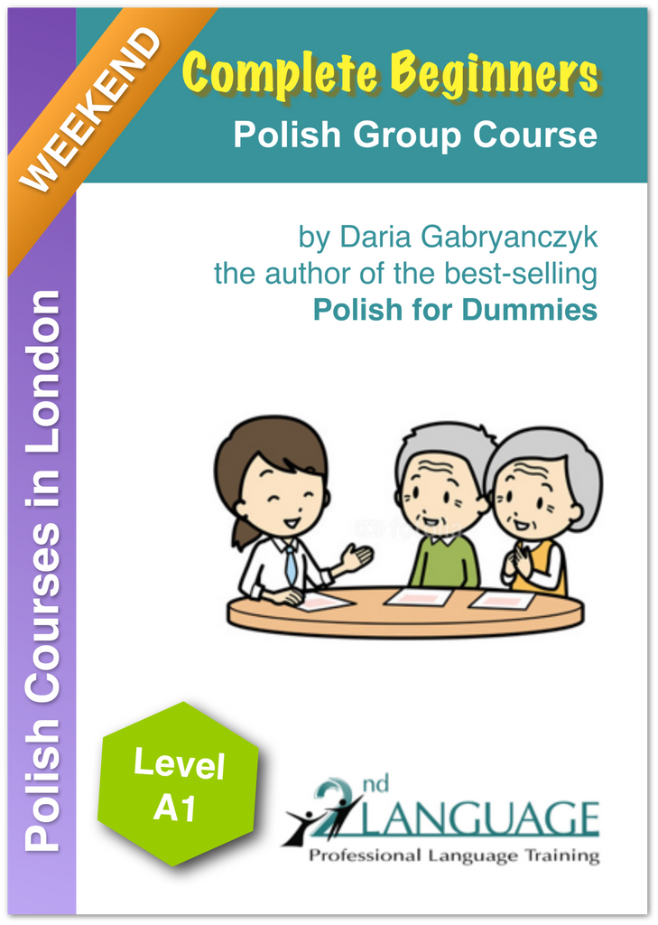 Weekend Polish Beginner Course in London - join and get a taste of the Polish language!