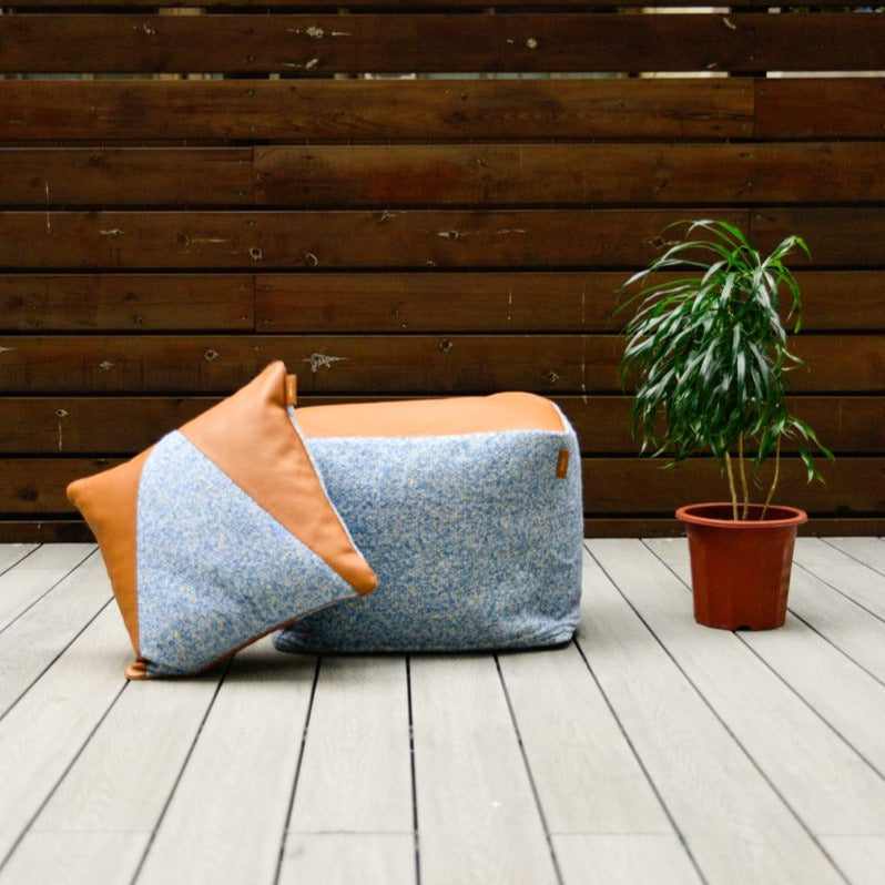 Amber™ Cushion in Blue