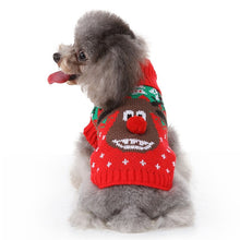 Load image into Gallery viewer, Dog Christmas Sweater