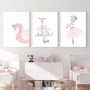 Swan Lake Canvas Series