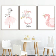Load image into Gallery viewer, Swan Lake Canvas Series