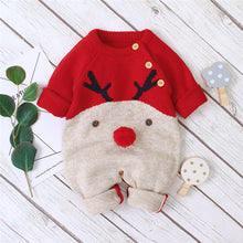 Load image into Gallery viewer, Baby Reindeer Christmas Sweater