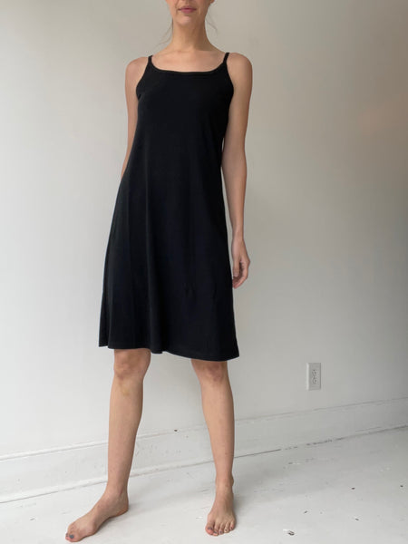rundholz black label strappy slip dress