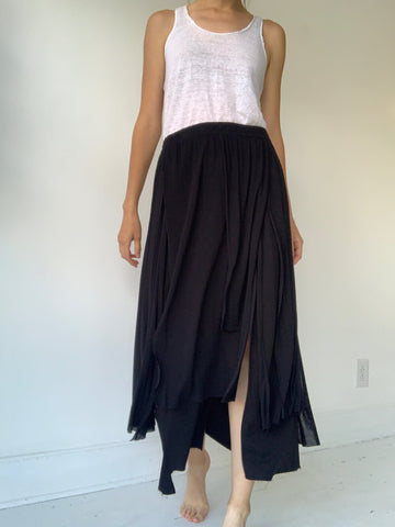 pal offner layered patch skirt