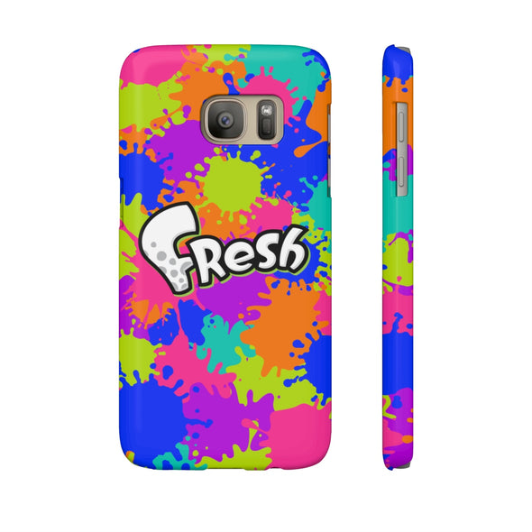 Splatoon Galaxy Phone case