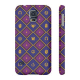 Jojo anime Galaxy phone case