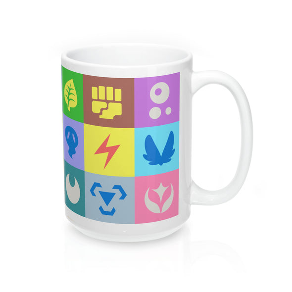 All pokemon types pokemon mug