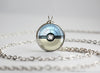 Sandshrew Pokemon Alola Form Themed Pokeball pendant