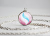 Pokemon Altaria Altarianite Mega Stone Pendant Necklace