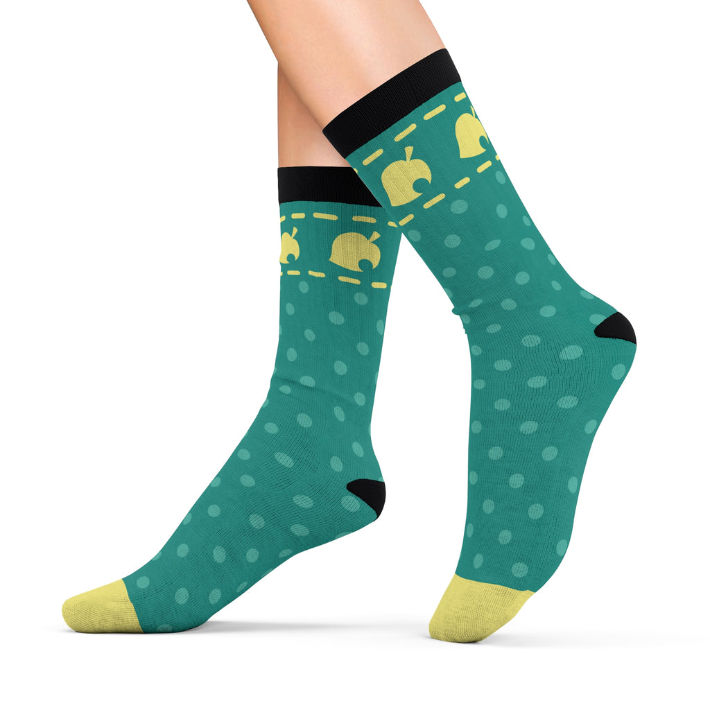 Animal Crossing Pocket Camp Cushion Socks
