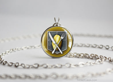 Attack on 'Tatos Shingeki no Kyojin necklace SNK Attack on Titan