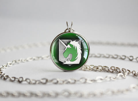 Attack on Titan SNK Shingeki no Kyojin necklace pendant