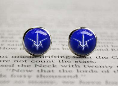 Code Geass Order of the Black Knights emblem Earrings