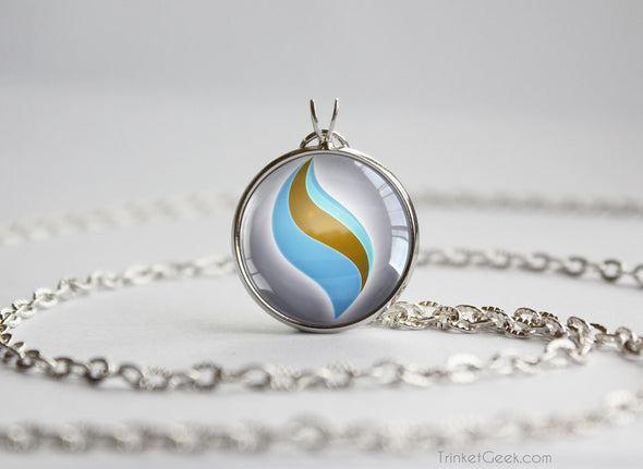 Pokemon Blastoisinite Mega Stone Pendant Necklace