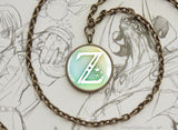 Zelda BOTW Z Symbol Breath of the Wild BRONZE necklace