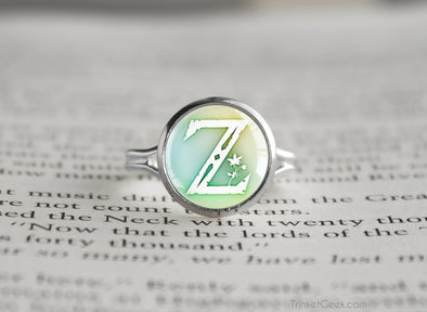 Zelda BOTW Symbol Breath of the Wild silver ring