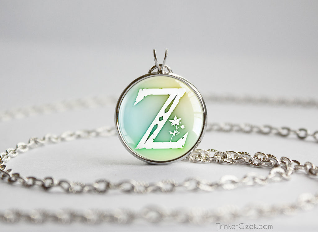 Zelda BOTW Z Symbol Breath of the Wild necklace