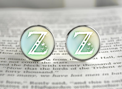 Zelda BOTW Z Symbol Breath of the Wild Cufflinks