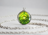 Bug Type Pokemon Necklace Themed Pokeball pendant