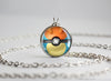 Pokemon Charizard Themed Pokeball Pendant Necklace