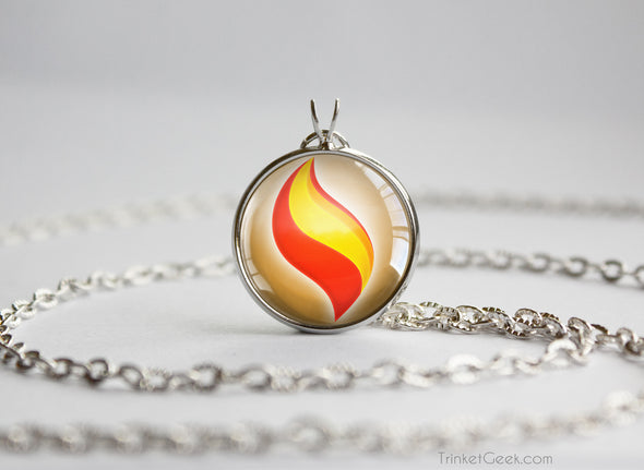 Pokemon Charizardite Y Mega Stone Pendant Necklace