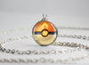 Pokemon Charmander Themed Pokeball Pendant Necklace