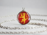 Game of Thrones Chibi Lannister necklace