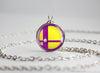 Classic Wario Smash Ball necklace