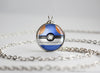 Pokemon Croagunk Themed Pokeball Pendant