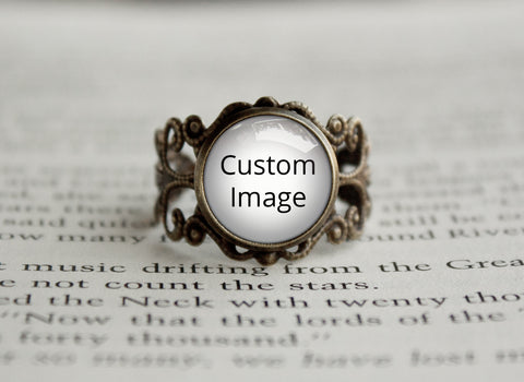 Customized antique style Ring